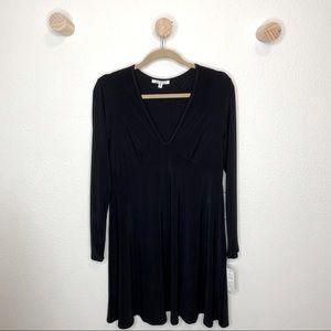 Tash + Sophie long sleeve empire style dress